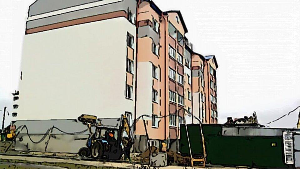 Пятиэтажный дом в Ченках